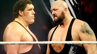Andre the Giant vs Big Show, (Side by Side)  Who is Taller?