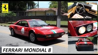 Garagem do Bellote TV: Ferrari Mondial 8