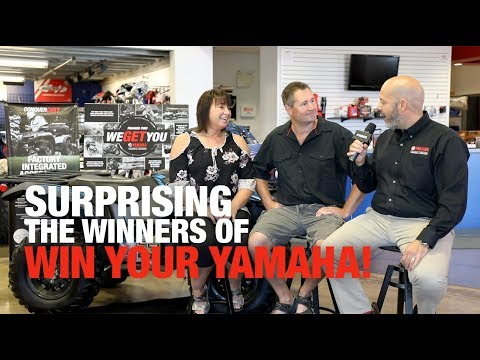 We Surprised the Winners of Yamaha Financial Services' Win Your Yamaha