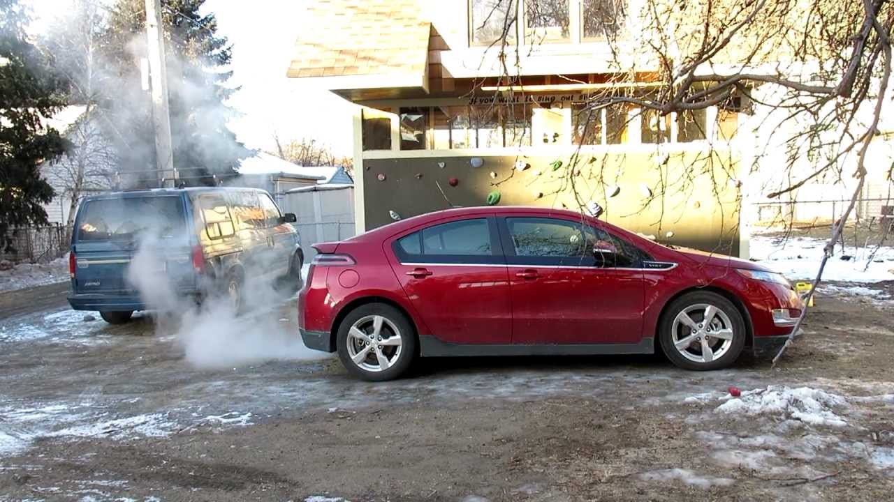 Chevy volt winter driving