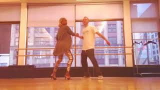 Victor Manuel + Yandel Imaginar-Salsa Choreo