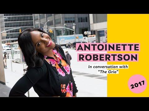 Antoinette Robertson  2017 NY Press Tour The Grio