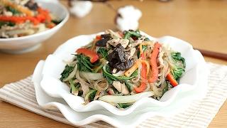 잡채 만드는법~ 황금레시피로 불지않게 맛있는 잡채만들기 [Stir-fried Glass Noodles and Vegetables]
