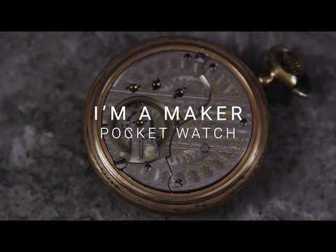 Mechanical Pocket Watch Sounds - No Talking   #ASMR