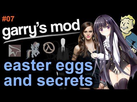 GARRY'S MOD EASTER EGGS AND SECRETS Episode 7 HD