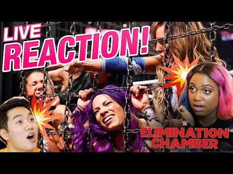 Inaugural WWE Women's Tag Team Championship Match Live REACTION | WWE Elimination Chamber 2019
