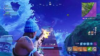 Fortnite Launch Pad Fail - Enemy Went to Heaven Real Quick
