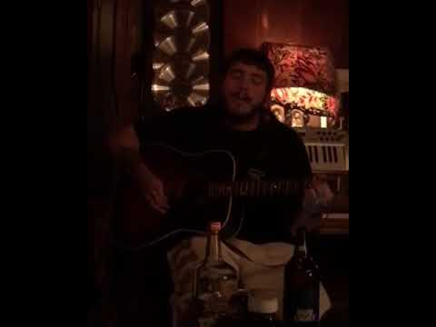 Flashback To Post Malone Covering Hank Williams With A 40 oz. Bud Light & A Handle Of Tito's