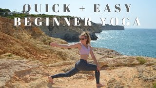 Quick + Easy Vinyasa Yoga