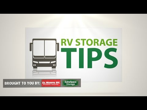 RV Storage Tips: How To Save $5,000 By Properly Storing An RV