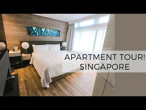 Apartment Tour || ParkRoyal Serviced Suites || SINGAPORE