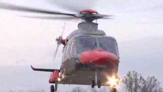 AgustaWestland AW149 first flight