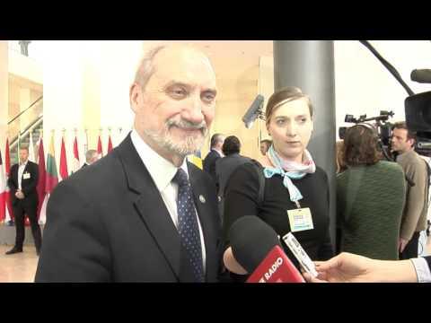 Minister Macierewicz w Luksemburgu