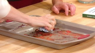 How to Clean a Dirty Baking Sheet | Rachael Ray Show