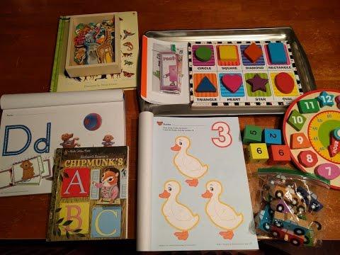Preschool Homeschool Lessons/Activities (Day 11)