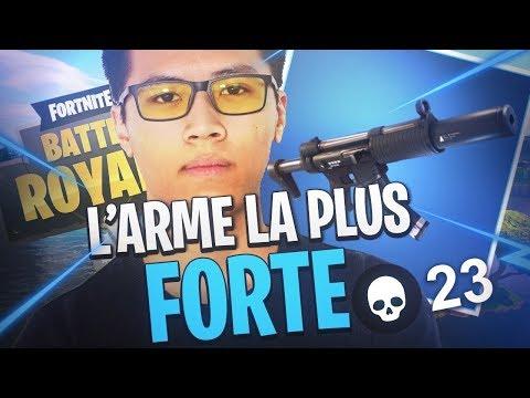 L'ARME LA PLUS FORTE DU JEU ?! - KINSTAAR FORTNITE GAMEPLAY thumbnail