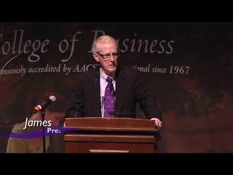 ECU College of Business Cunanan Lecture Series: James Morgan