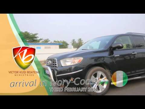 ARRIVAL OF PROPHET VICTOR KUSI BOATENG IN IVORY COAST