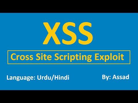 Website Security: XSS Cross Site Scripting Exploit (Urdu/Hindi)