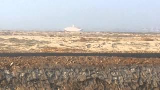 عاااجل : يخت المحروسة يستعد لدخول قناة السويس الجديدة فى بحيرة التمساح بالاسماعيلية