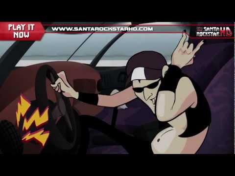 Santa Rockstar HD Intro