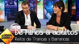 Marta Milans supera con éxito el complicado reto de Trancas y Barrancas - El Hormiguero 3.0