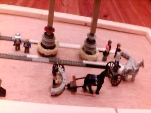LEGO CHARIOT RACE (in Latin)