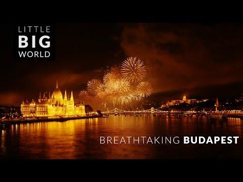 Breathtaking Budapest (4k - Time lapse - Tilt shift - Aerial)