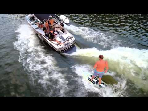 Lake Austin Wakesurfing with Tuk Tuk Boards
