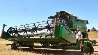 Żniwa Rzepakowe 2016 - Usługi WANICKI AGRO John Deere W650i