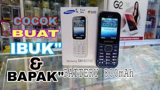 "UNBOXING HP SAMSUNG SM-B310E JAMAN (bagus buat telpon"" )"