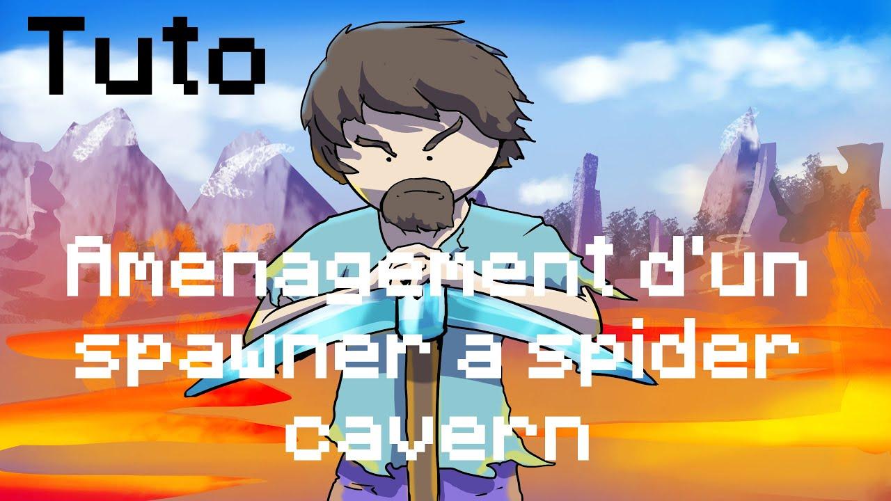 Tuto am nagement spawner cave spider youtube for Amenagement cave