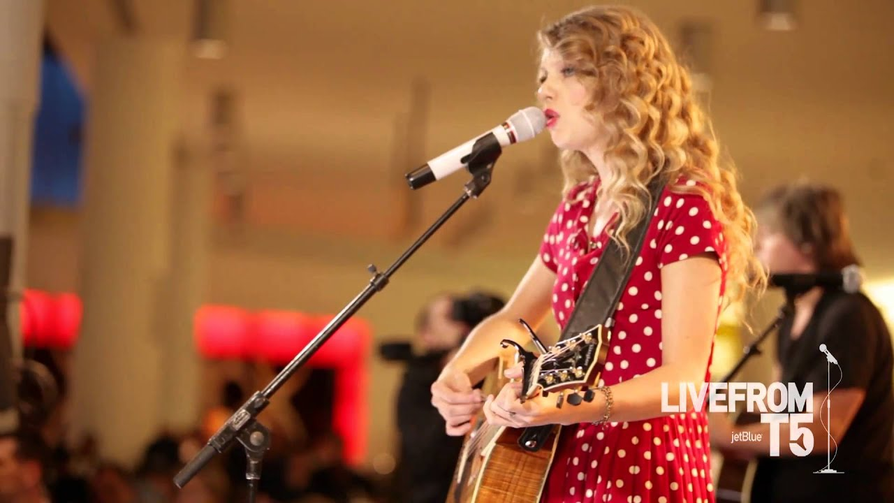 JetBlue - Taylor Swift Live from T5 - Back to December - HD