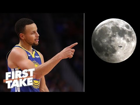 Steph Curry's moon landing take is 'irresponsible' – Max Kellerman | First Take