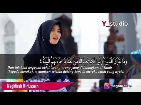Download Lagu Maghfirah M Hussein surah al bayyinah Full HD