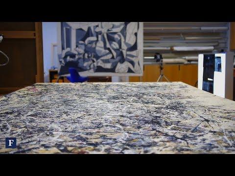 Restoring Jackson Pollock