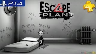 Escape Plan - Gameplay Playstation Plus Free Game PS4 1080p (PS+ Free Games)