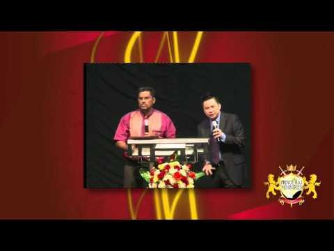 PRM -  Prince Raj Prophetic Message at Tabqha Batam Feb 2014