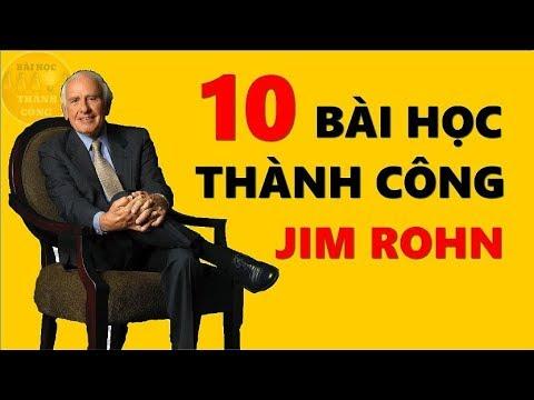 10 Bài Học Thành Công từ Jim Rohn sẽ Thay Đổi Cuộc Đời Bạn!