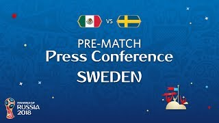 FIFA World Cup™ 2018: Mexico - Sweden: Sweden - Pre-Match PC
