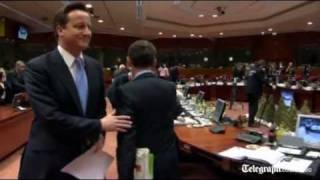 Did Nicolas Sarkozy snub David Cameron