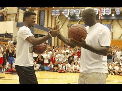 Michael Jordan Vs Jimmy Butler Mj Hit Clutch 3 Point Buzzer Beater Youtube