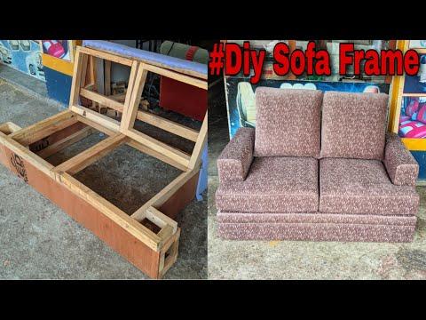 how to make sofa frame
