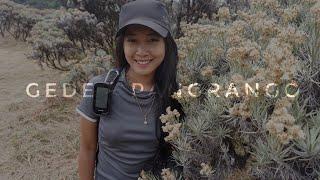 Pendakian Gunung GEDE PANGRANGO via PUTRI - CIBODAS (GPS Track)