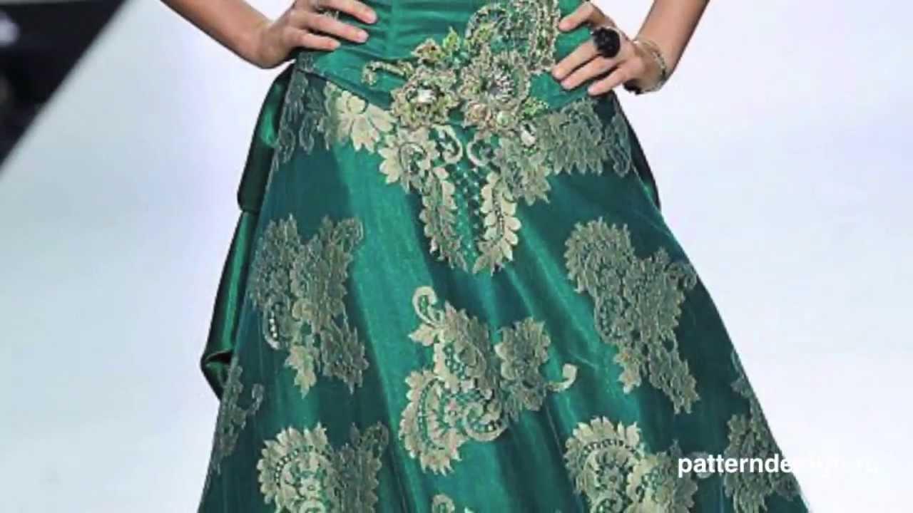 Выкройки индийской юбки