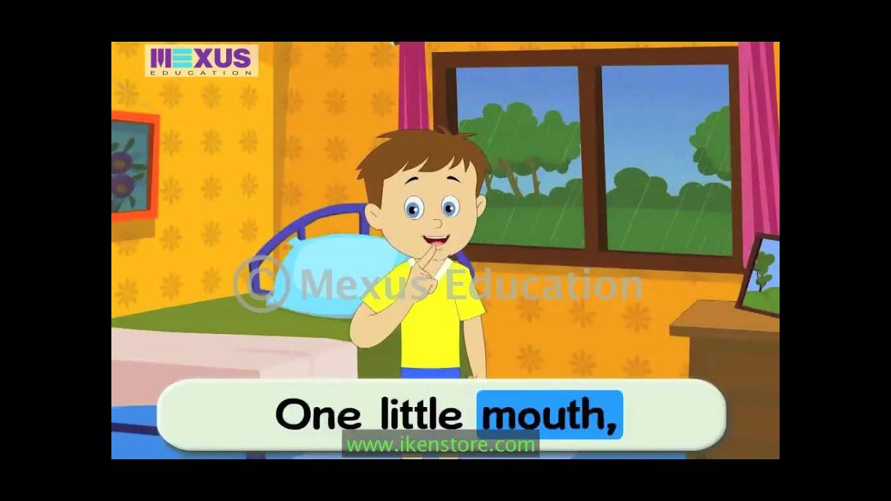 Sing and Learn Ten Little Fingers Rhyme