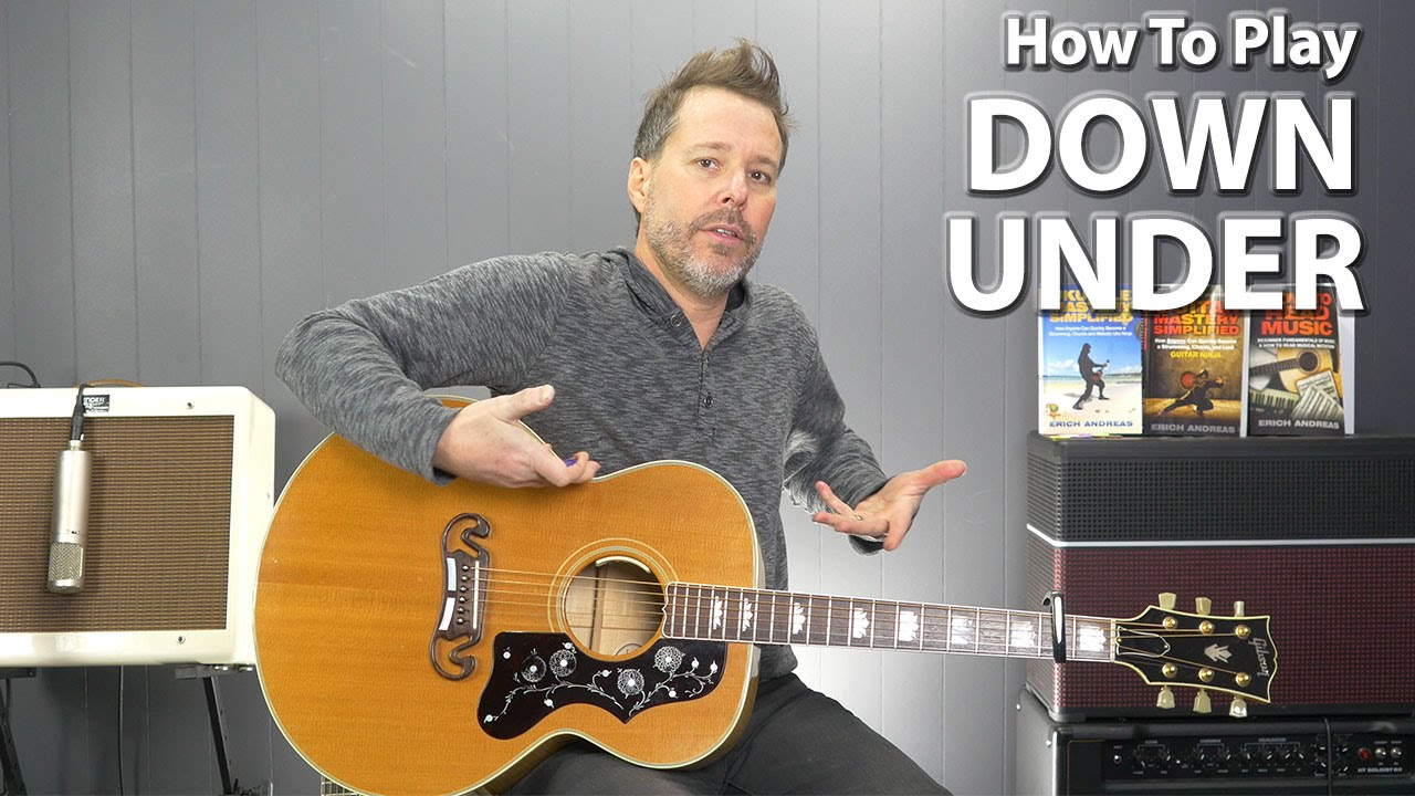 how to play working man on guitar