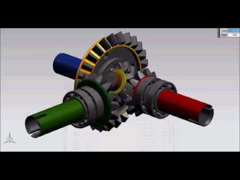How Differential Gearbox Works