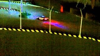 Toyota Mark X Patrol Car Drifting