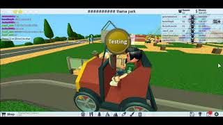 Roblox theme park tycoon showing my rides